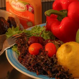 My Salads by Syahrul Nizam Abdullah - Food & Drink Fruits & Vegetables