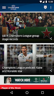 Free Download UEFA Champions League APK for Samsung