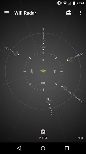 Wifi Radar screenshots