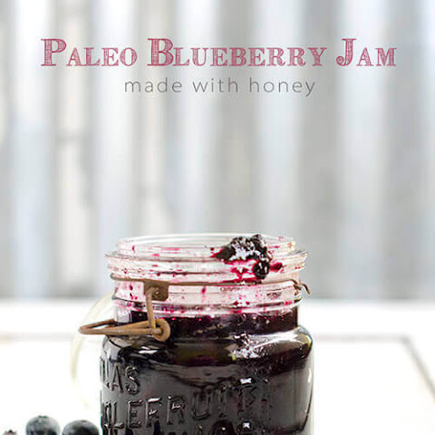 Paleo Blueberry Jam with Honey