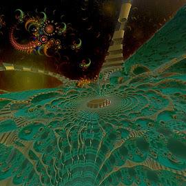 The Gilbert Strain by Rick Eskridge - Illustration Sci Fi & Fantasy ( fantasy, jwildfire, mb3d, fractal, twisted brush )