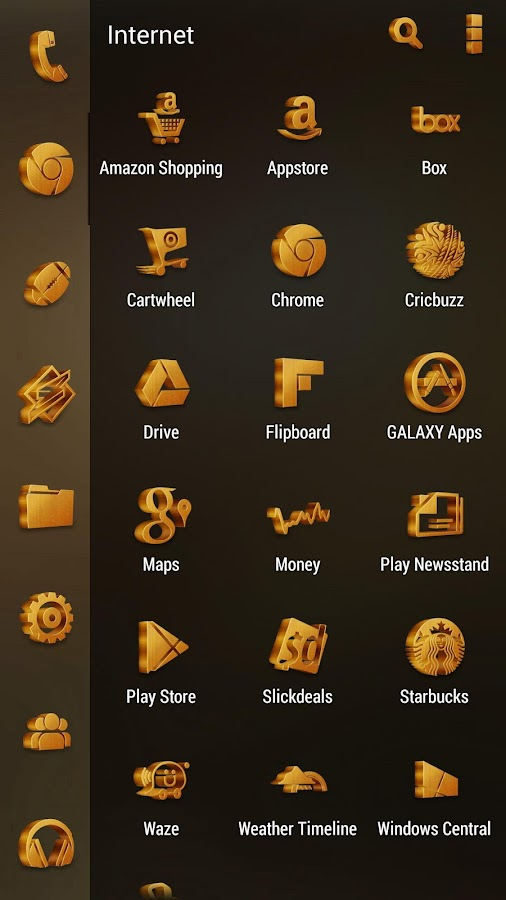 Grove Multilauncher Icon Pack Screenshot 6