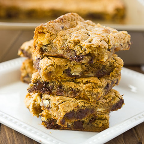 Almond Flour Blondies {Gluten-Free, Dairy-Free Option}