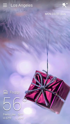Christmas Live Background For PC