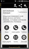 Screenshot of Sección Amarilla