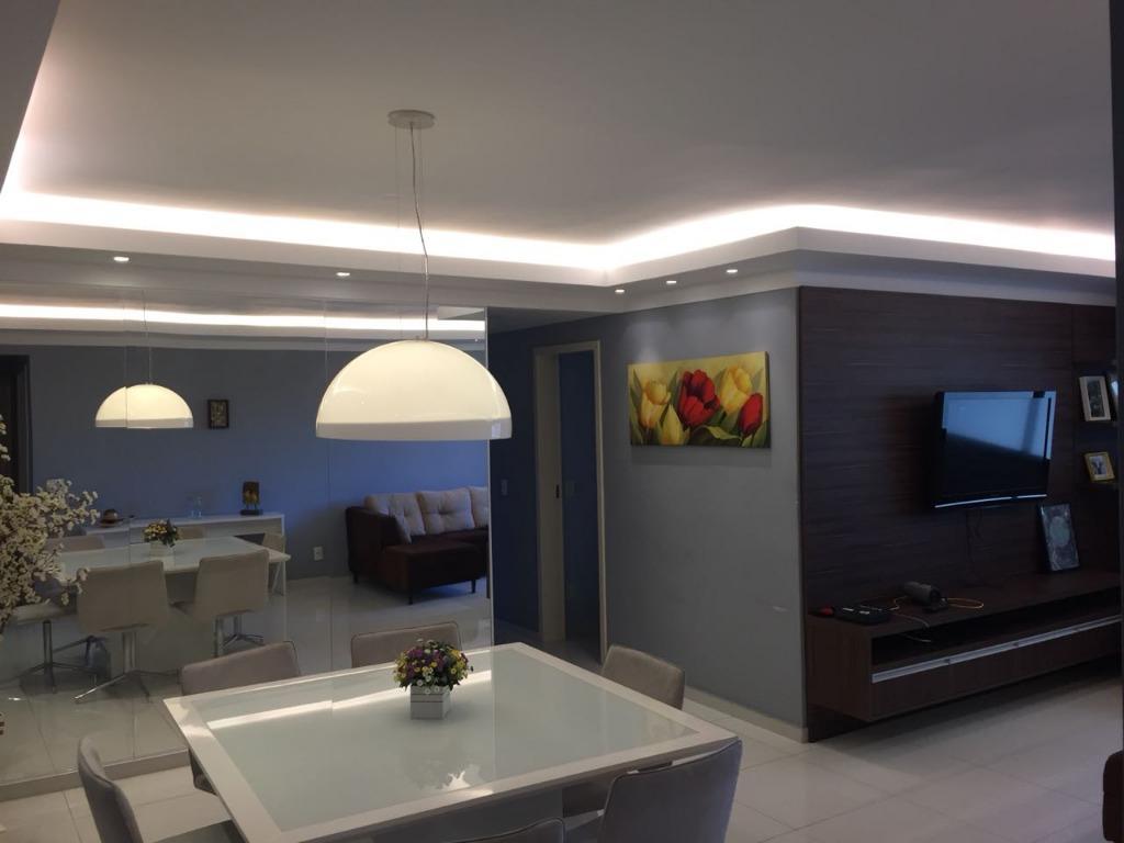 Apartamento residencial para locação mobiliado, Jardim Aquar