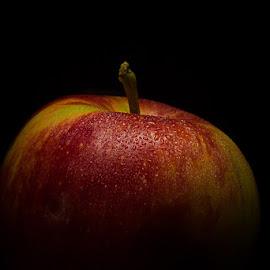 red apple by Shajin Nambiar - Food & Drink Fruits & Vegetables ( apple kashmiri apple )