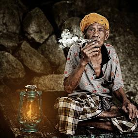 POK NGOH by Jari Foto - People Portraits of Men ( senior citizen )