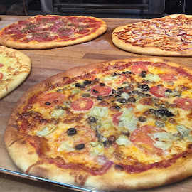 Pizza Pies to Go! by Lope Piamonte Jr - Food & Drink Eating