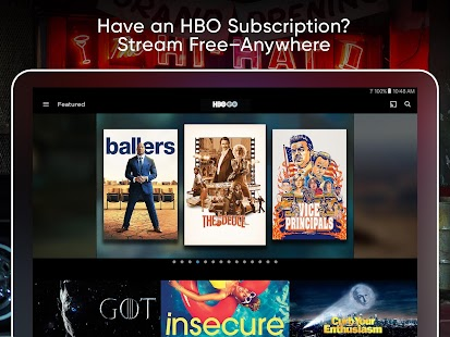 App HBO GO: Stream with TV Package apk for kindle fire