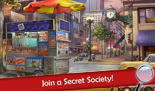 Hidden Objects: Mystery Society HD Free Crime Game