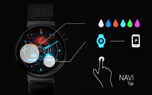 NAVI - Watch face Screenshot