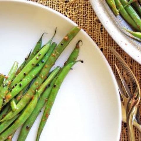 Miso Butter Green Beans