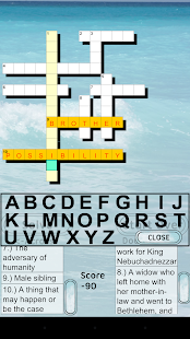 Bible Crossword FREE- screenshot