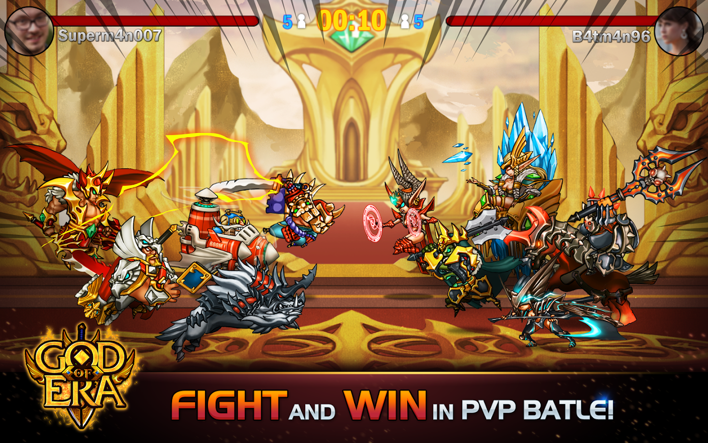God of Era: Heroes War (GoE) Screenshot 10