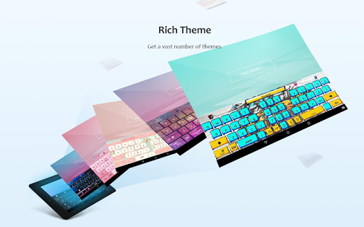 GO Keyboard - Emoticon keyboard, Free Theme, GIF screenshot 10