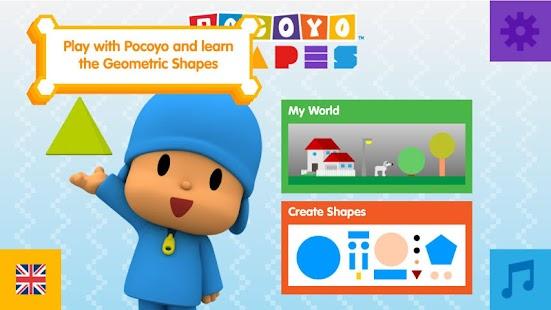 Pocoyo Shapes