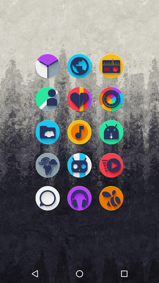Almug - Icon Pack Screenshot 2