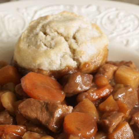 English Beef Stew with Suet Dumplings
