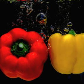 Paprika #6 by Dimas N - Nature Up Close Gardens & Produce
