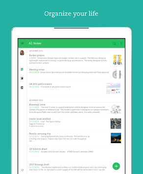 Evernote APK screenshot thumbnail 7