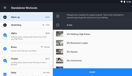 Runtastic Results Home Workouts & Personal Trainer screenshot 12
