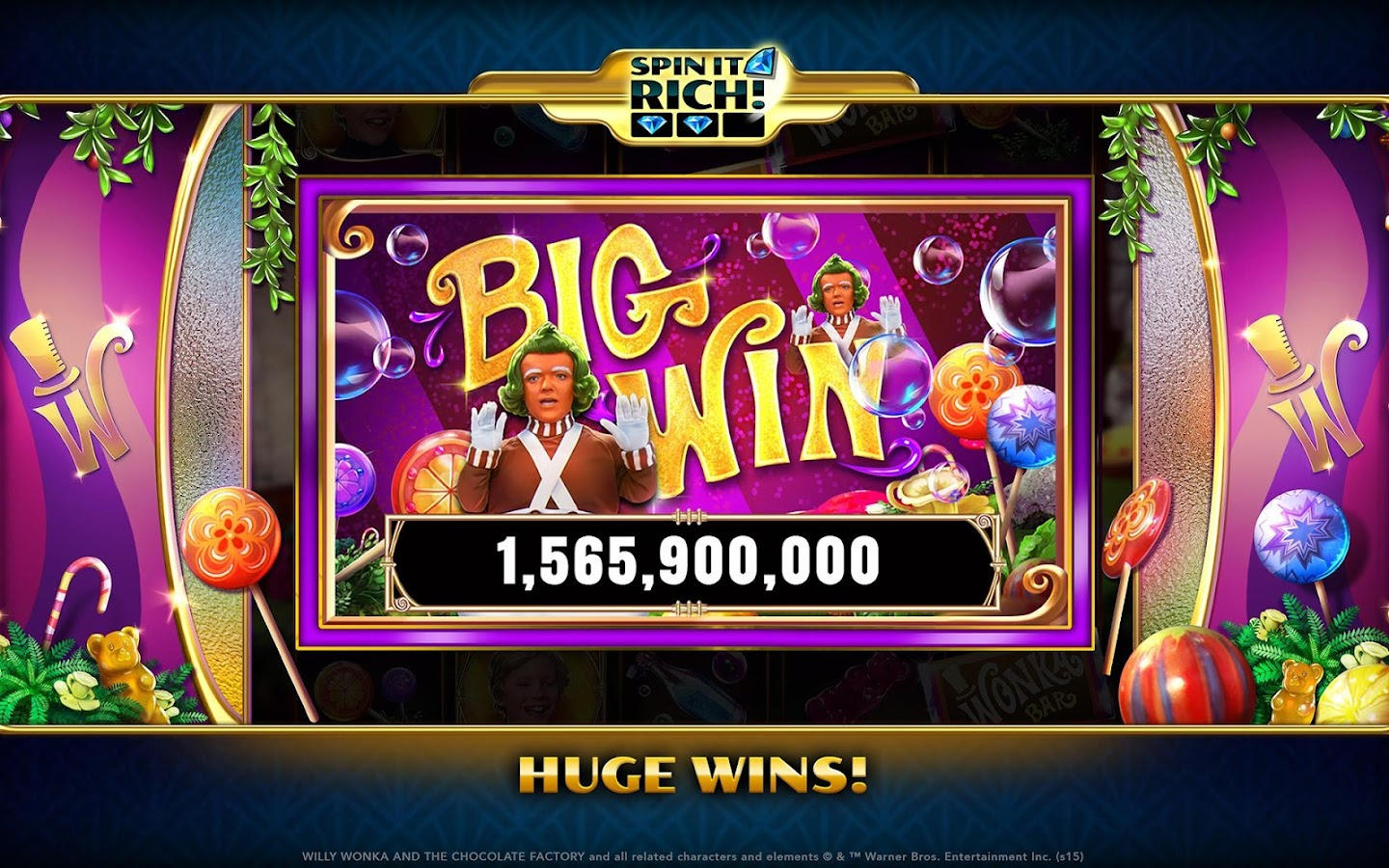 Spin It Rich! Free Slot Casino Screenshot 11