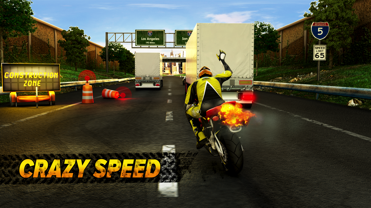Highway Rider Screenshot 0