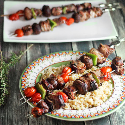 Pork Kabobs for Man Food Mondays