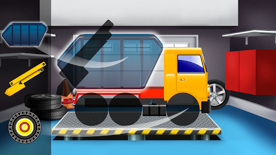 Kids Builder Trucks-Repair,Wash,Fuel Driving Game