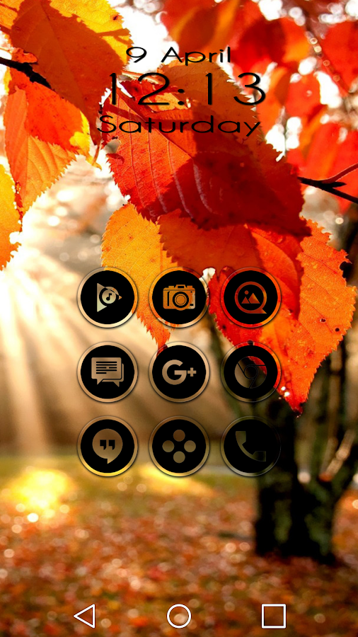 Miller Black - Icon Pack Screenshot 2