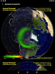 My Aurora Forecast Pro- screenshot thumbnail