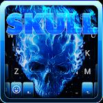 Flaming Skull Emoji Keyboard Icon