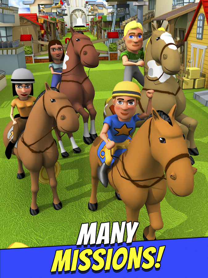Cartoon Horse Riding Game Free Screenshot 6
