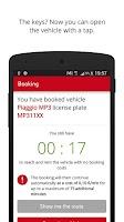 Screenshot of enjoy vehicle sharing