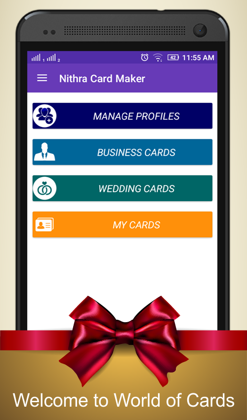 Card Maker Business Wedding Screenshot