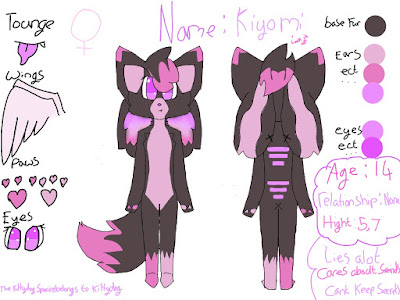 kitty dog oc kiyomi by spicy suger