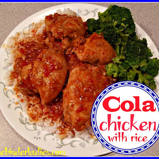 Quick & Easy Cola Chicken with Rice!