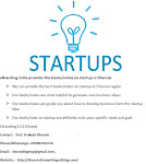 eBranding India provides the books or notes on startup in Chennai