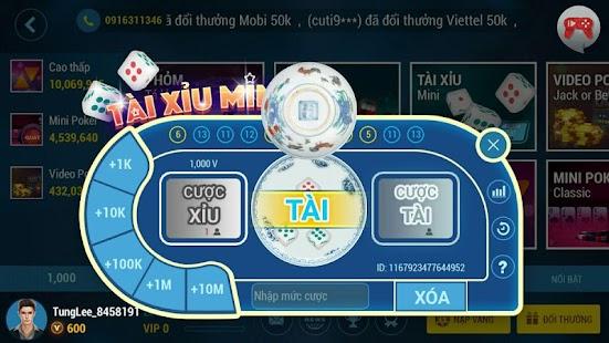 Game Game bai doi thuong - Danh bai Tien Len APK for Windows Phone