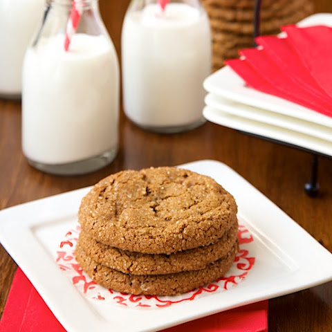 Ginger Toffee Cookies