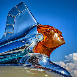 Pontiac Hood Ornament by Ron Meyers - Transportation Automobiles
