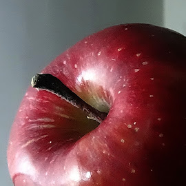 Red Apple by Pradeep Kumar - Food & Drink Fruits & Vegetables