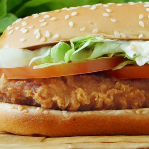 Copycat McDonald's Chicken Sandwich