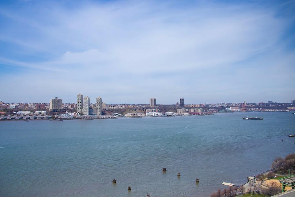 Incrível vista para o Rio Hudson