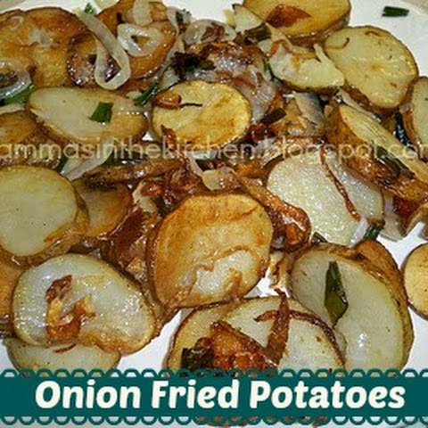 Onion Fried Potatoes