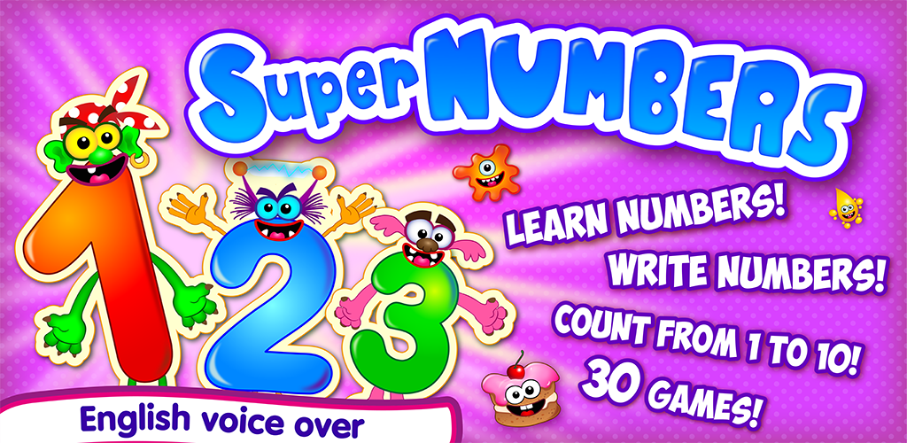 Super NUMBERS For Kids FULL 0 Apk Download