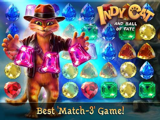 Indy Cat Match 3 screenshot 6