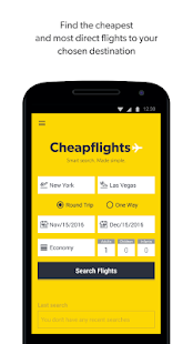 Download Android App Cheapflights – Flight Search for Samsung