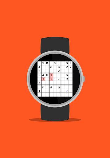 Sudoku Wear (Android Wear) - screenshot